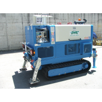 ALL TERRAIN, SELF-PROPELLED CABLE PULLERS BY OMAC ITALY