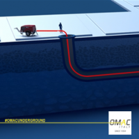 CABLE LAYING INSIDE PIPE VIDEO