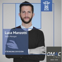 OMAC TEAM: LUCA MANZOTTI - SALES MANAGER