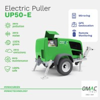 UP50-E PULLER:  ITALIAN-TECHNOLOGICAL INNOVATION 100% GREEN BY OMAC
