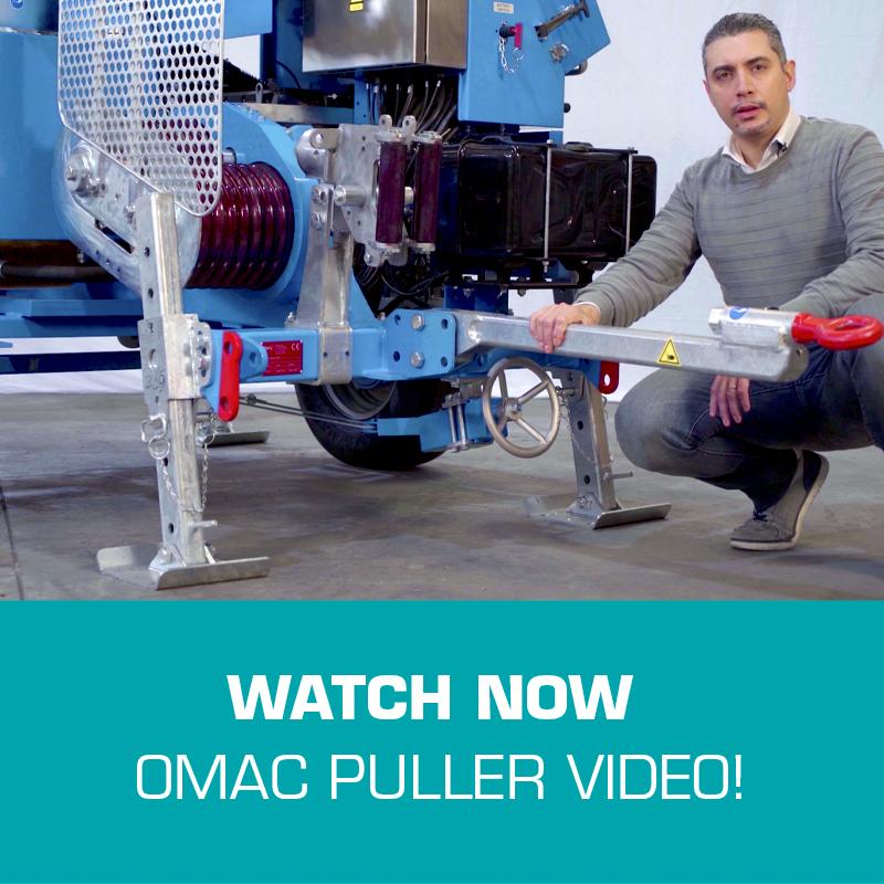OMAC PULLER VIDEO F275.30