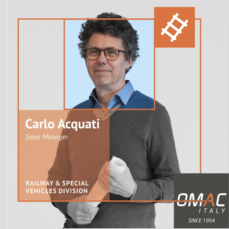 OMAC TEAM: CARLO ACQUATI - SALES MANAGER