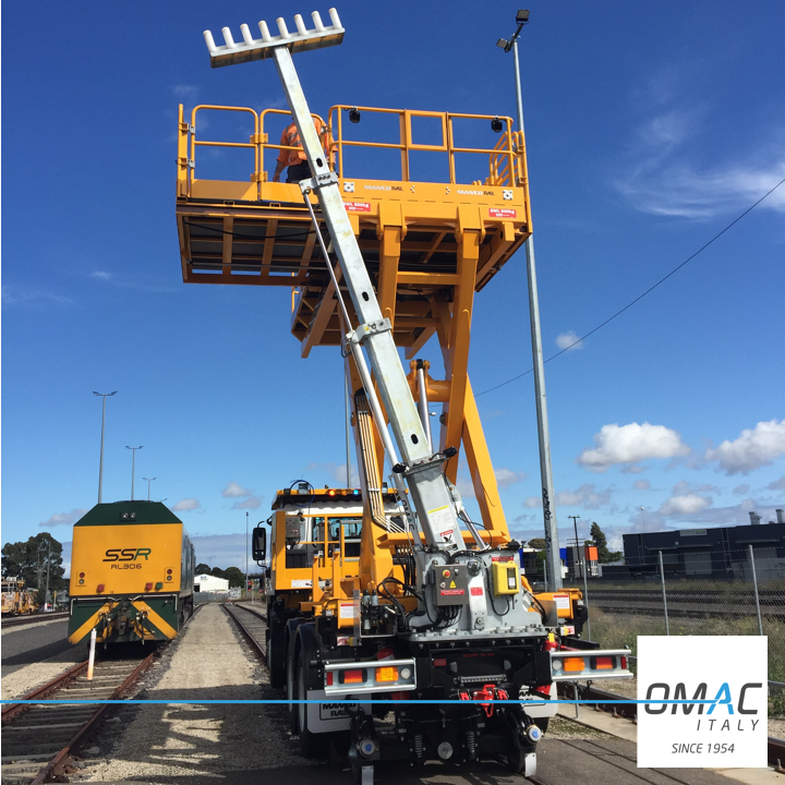 OMAC ITALY WITH MANCO FOR UGL AUSTRALIA DEVELOPED A SPECIAL T-BAR FINGER FIXED CABLE